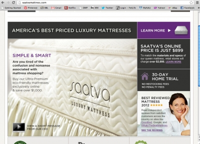 Tempurpedic vs. Saatva vs. Sleep Number: Premium Mattress ...
